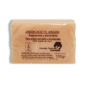 Jabón con aceite de argán 100 gr