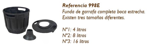Funda Plástico Garrafa Boca estrecha