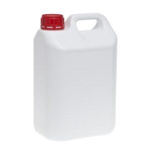 Bidón 5 litros 33lb HDPE (Color Transparente)